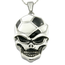 Steel Football Club Skull Pendants